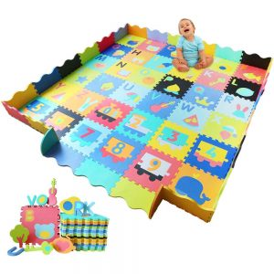 Baby Foam Play Mat with Fence