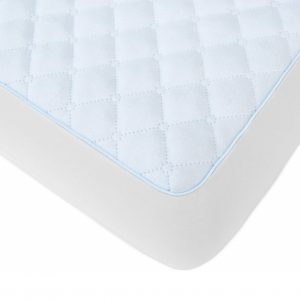 BlueSnail Waterproof Quilted Pack N Play Mattress Cover