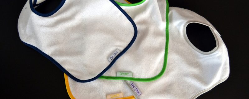 Bibs for baby. Childcare in the home products.