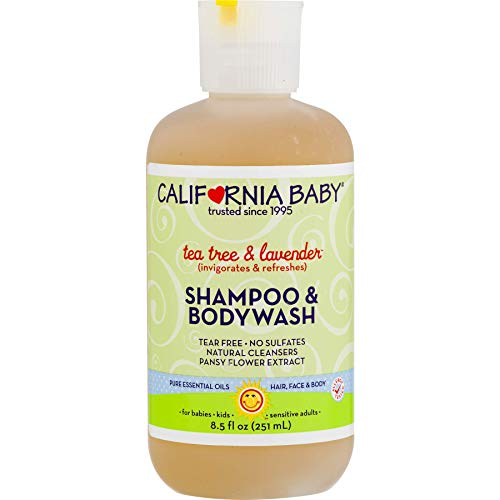 California Baby Tea Tree and Lavender Shampoo and Body Wash